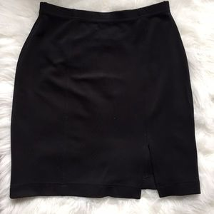 Vintage tadashi black skirt